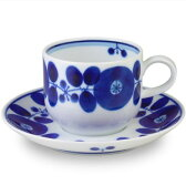 【送料無料】白山陶器 BLOOM(ブルーム) コーヒーカップ&ソーサー 16213