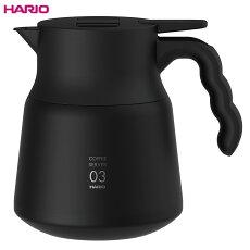 HARIO(ハリオ)V60保温ステンレスサーバーPLUS800(ブラック)VHSN-80-B