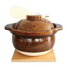 藍花のかまどさん3合炊き【送料無料】【長谷製陶】