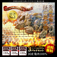 宮崎名物鶏の炭火焼
