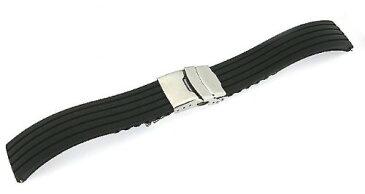 「タグホイヤー(TAGHEUER)向け」 輸入王オリジナル ラバーベルト オリジナルパターン1 社外品 メンズ 腕時計用