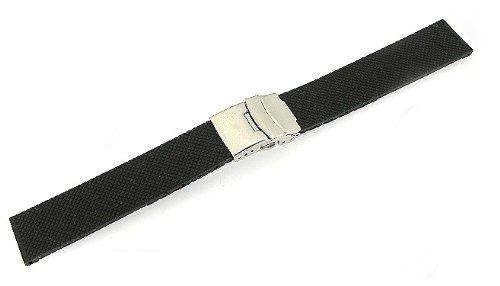 「ハミルトン(HAMILTON)向け」 輸入王オリジナル ラバーベルト オリジナルパターン3 社外品 20/18mm メンズ 腕時計用