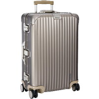 【リモワ】RIMOWATOPASトパーズチタニウム945.77マルチホイール98Lアルミゴールド4輪スーツケース