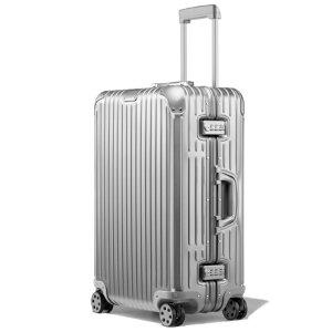 【リモワ】RIMOWA オリジナル チェックインM 60リットル 4輪 アルミ シルバー 92563004 ORIGINAL Check In M 60L スーツケース キャリーケース 旅行 トラベル 出張 旧 トパーズ