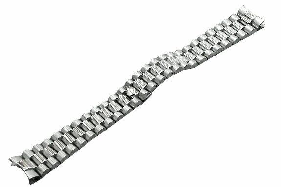 「ロレックス(ROLEX)向け」輸入王オリジナルデイデイト用プレジデントブレスツヤありメンズ腕時計用社外品
