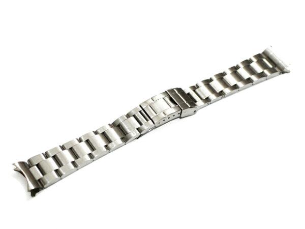 「ロレックス(ROLEX)向け」輸入王オリジナルサブマリーナ用オイスターブレスツヤなしメンズ腕時計用社外品エクスプローラーなどに