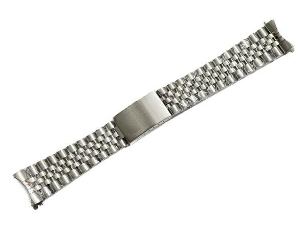 「ロレックス(ROLEX)向け」輸入王オリジナルデイトジャスト用ジュビリーブレスセンターツヤありメンズ腕時計用社外品