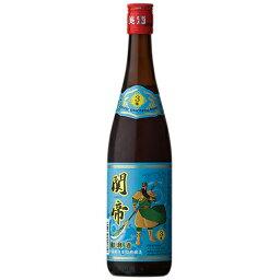 中国酒 関帝 陳年 3年 紹興加飯酒(青) 600ml (75113)(51-0)