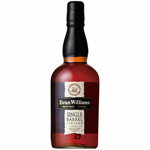 ウイスキーエヴァンウィリアムスシングルバレル750ml(71055)洋酒Whisky(34-2)
