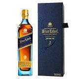 ウイスキー ジョニーウォーカー ブルー ラベル 正規品 750ml (70515) 洋酒 Whisky(32-2)