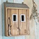家型キーボックス【鍵/収納/壁掛け/置型/小型/インテリア/おしゃれ/木製】