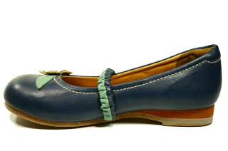 フラットお花本革ぺたんこ靴前ゴム痛くない靴疲れない靴代引き手数料込送料無料皮