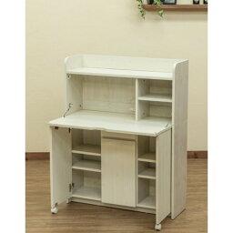 ライティングデスク Solano ホワイト(WH)【代引不可】