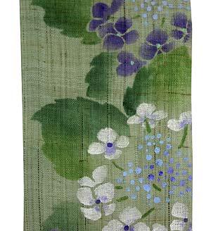 長尺タペストリー・紫陽花