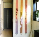 ☆ちょっとしたスペースにも京都の雅を感じさせる、和風長尺細タペストリー3連長尺タペストリー...
