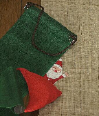 長尺タペストリー・サンタの宝袋