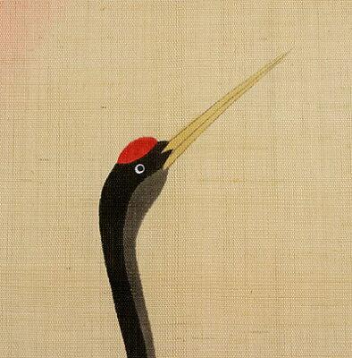 和風タペストリー・鶴と亀