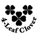 【4-Leaf Clover Ver.07 カッティングステッカー 2枚組 幅約1...