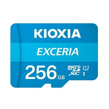 キオクシア microSDメモリカード 256GB クラス10 UHSスピードクラス1 EXCERIA KCB-MC256GA [KIOXIA 旧: 東芝メモリ 国内正規品 国内 日本語 パッケージ 読み込み 速度 最大 100 MB/s microSDXC SD 256 SDカード CLASS10 UHS-I ゲーム機 カメラ スマホ]