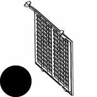 シャープ プラズマクラスターイオン発生機用 フィルターカバー<ブラック系>(281 337 0047)[SHARP 純正 正規品 交換 部品 パーツ  新品 新しい フィルター]※取寄せ品