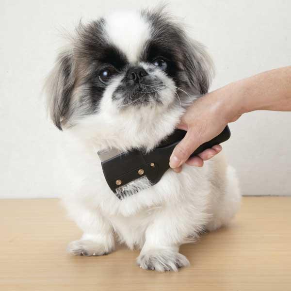 ペットトリマーセットトリミング代節約に♪トリマーとブラシのセット♪ 0010 犬用品 お手入れ用品 バリカン トリマー ブラシ ペットトリマー トリミング 猫用品