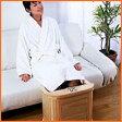木製脚温器 『ぽかぽか足湯DX』足裏を刺激するコロコロローラー付き♪ ぽかぽか脚湯 ポカポカ足湯冷え性解消 むくみとり 快眠