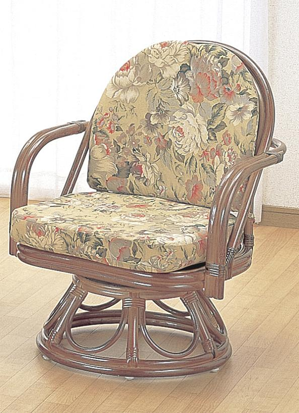【ランキング1位獲得】籐 回転座椅子 ハイタイプ S777B イス チェア 座椅子オールシーズン使えます♪ S777B アジロ編み回転籐椅子回転チェア回転いす一人掛けイスハイチェアシンプル自然素材天然素材籐家具籐製座椅子ラタン