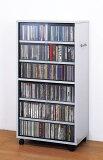 【ランキング1位獲得】CDビデオ収納ワイド型 収納家具 本棚 ラック カラーボックス AVメディア収納ラックオドロキの両面大収納! 97309 1人ひとり暮らし1R1KCDDVDAVチェスト多目的小物収納シンプル壁面収納ラック本棚シェルフラックディスプレイコレクション書