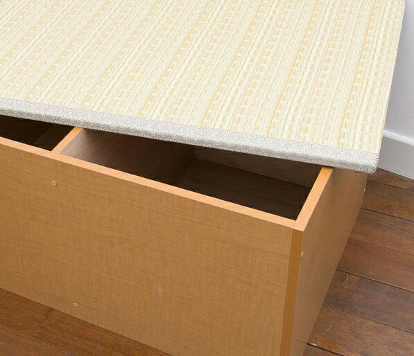 【ランキング1位獲得】PP樹脂畳ユニットボックス ハイタイプ 幅90 カーペット マット 畳 畳日本製!収納できる畳ボックス♪畳 スツール 収納 PP-H90-NA PP-H90-BR 和家具 畳 畳ボックス スツール 収納 ボックス ケース 腰かけ