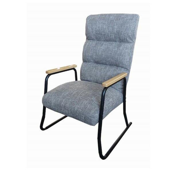 低反発リビングチェア グラン SNK-サム イス チェア リクライニングチェアお部屋を彩る北欧風デザイン! 10347 10348 10349 座椅子 椅子 いす イス 肘付 ソファ 1人用 チェア リラックス チェア パーソナルチェア 1人掛け 座椅子 椅子