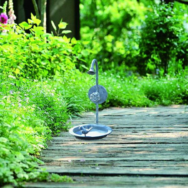バードフィーダー Bタイプ エクステリア・ガーデンファニチャー ガーデンオーナメント・置物86830 バードフィーダー 鳥 餌 餌皿 餌付け 自然 ガーデニング とり 小鳥 可愛い お洒落 イングリッシュガーデン 動物