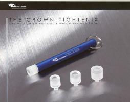 TheCrownTightenixクラウンタイトニックスウォッチワインダー全4タイプ機械式時計のすばやいゼンマイ巻き上げとリューズ締め込み強化工具KDW001A