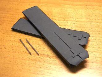 Pure rubber clock band clock belt black black 20mm T610014614 for TISSOT Tissot T- touches