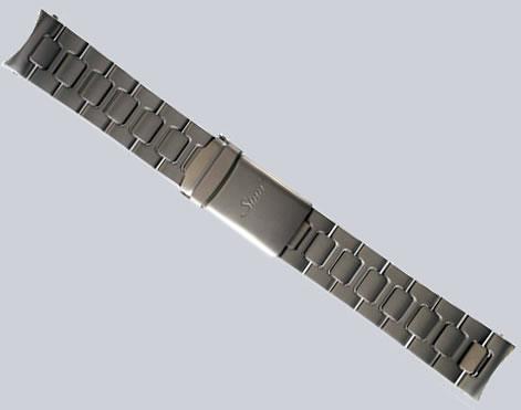 ジン 腕時計 ブレスレット Uシリーズ用 (22mm) 純正 ステンレススチール 時計バンド...