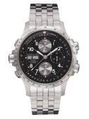 ハミルトン 腕時計 HAMILTON カーキ X-ウインド SSブレス H77616133 【文字盤カラー ブラック】 【自動巻き】 ステンテススチールブレスレット