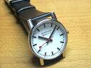 MONDAINE Evo モンディーン 腕時計 エヴォ メンズ ホワイトダイアル ブラックレザー A658.30300.11SBB 【文字盤カラー ホワイト】優美堂のモンディーンはメーカー保証つきの正規商品です。
