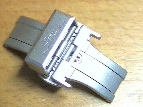 ジン 腕時計 Sinn 純正バンド ベルト (18mm) バタフライ バックル SSマット ...