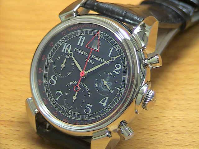 クエルボイソブリノス 腕時計 トルピード ヒストリアドール クロノテンポ 正規商品 Ref.3197-1N 【クエルボ・イ・ソブリノス】 無金利分割も可能です。