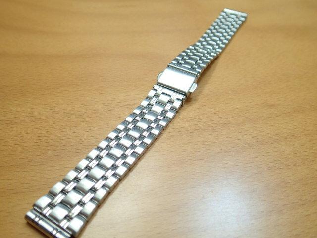 16mm時計バンド(腕時計)ベルト16ミリ ステンレススチール ブレスレット メタル バンド ベルト 時計ベルト・バンド バネ棒 サービス付き 16mm 時計ベルト 525円で販売していますバネ棒をサービスでお付けします。