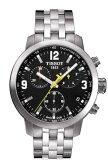 ティソ 腕時計 TISSOT PRC200 クロノグラフクォーツ T0554171105700 【文字盤カラー ブラック】