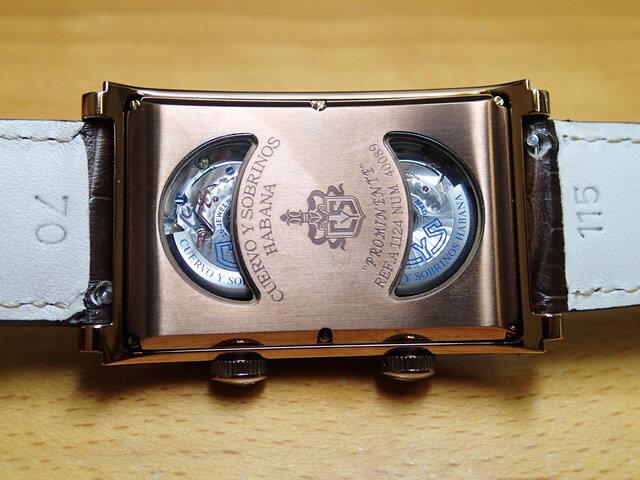 クエルボイソブリノス 腕時計 プロミネンテ デュアルタイム デイデイト 正規商品 8本の世界限定品 Ref.1124-2G532  【クエルボ・イ・ソブリノス】無金利分割も可能です。