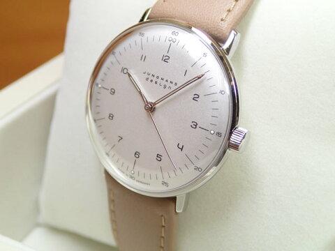 ユンハンス マックスビル バイユンハンス 腕時計 MAX BILL BY JUNGHANS Hand Wind 34mm マックスビル 手巻き式 027 3701 00 正規商品JUNGHANS ユンハンス 腕時計はメーカー保証2年付の正規代理店商品になります