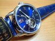 オリエントORIENT 腕時計 ORIENTSTAR オリエントスター セミスケルトン 機械式 自動巻き (手巻き付き) ミッドナイトブルー WZ0231DA メンズ