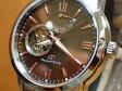 オリエントORIENT 腕時計 ORIENTSTAR オリエントスター セミスケルトン 機械式 自動巻き (手巻き付き) WZ0071DA メンズ