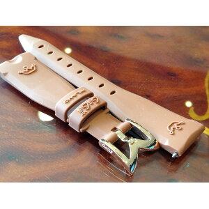 GaGa MILANO ガガミラノ 日本正規品 純正 時計バンド ベルト 40mm レディース用 ラバーベルト ブラウン