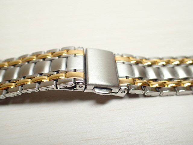 18mm 時計バンド(腕時計)ベルト18mm ステンレススチール ブレスレット メタル 時計ベルト・バンド バネ棒 サービス付き 18mm  時計ベルト 525円で販売していますバネ棒をサービスでお付けします