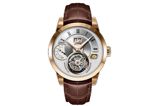 メモリジン 腕時計 トゥールビヨン MEMORIGIN Grand Series グランド マニュファクチュール トゥールビヨン AT1003RGWHBRR 優美堂は分割払いもできます!