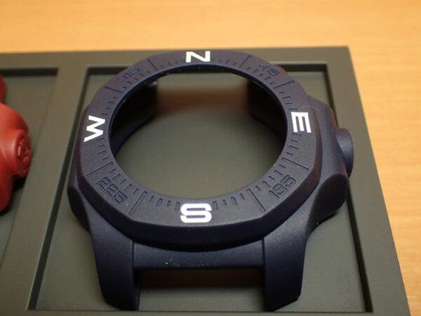 VICTORINOXビクトリノックス腕時計I.N.O.X.イノックス専用コンパスバンパーブルー(青)V.60019