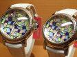 リトモラティーノ 腕時計 ペアウォッチ モザイコ・MOSAICO シリーズ D3ML99SS-D3MB99SS 【送料無料】