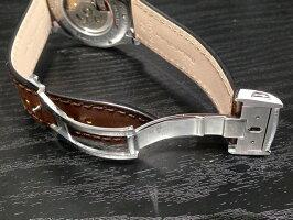 HAMILTONハミルトン時計ベルトバンドスピリットオブリバティー専用交換バンド牛革22mmブラウン(茶色)バックルつきH600324115